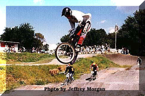 David Best at HCBMX in Flemington,NJ